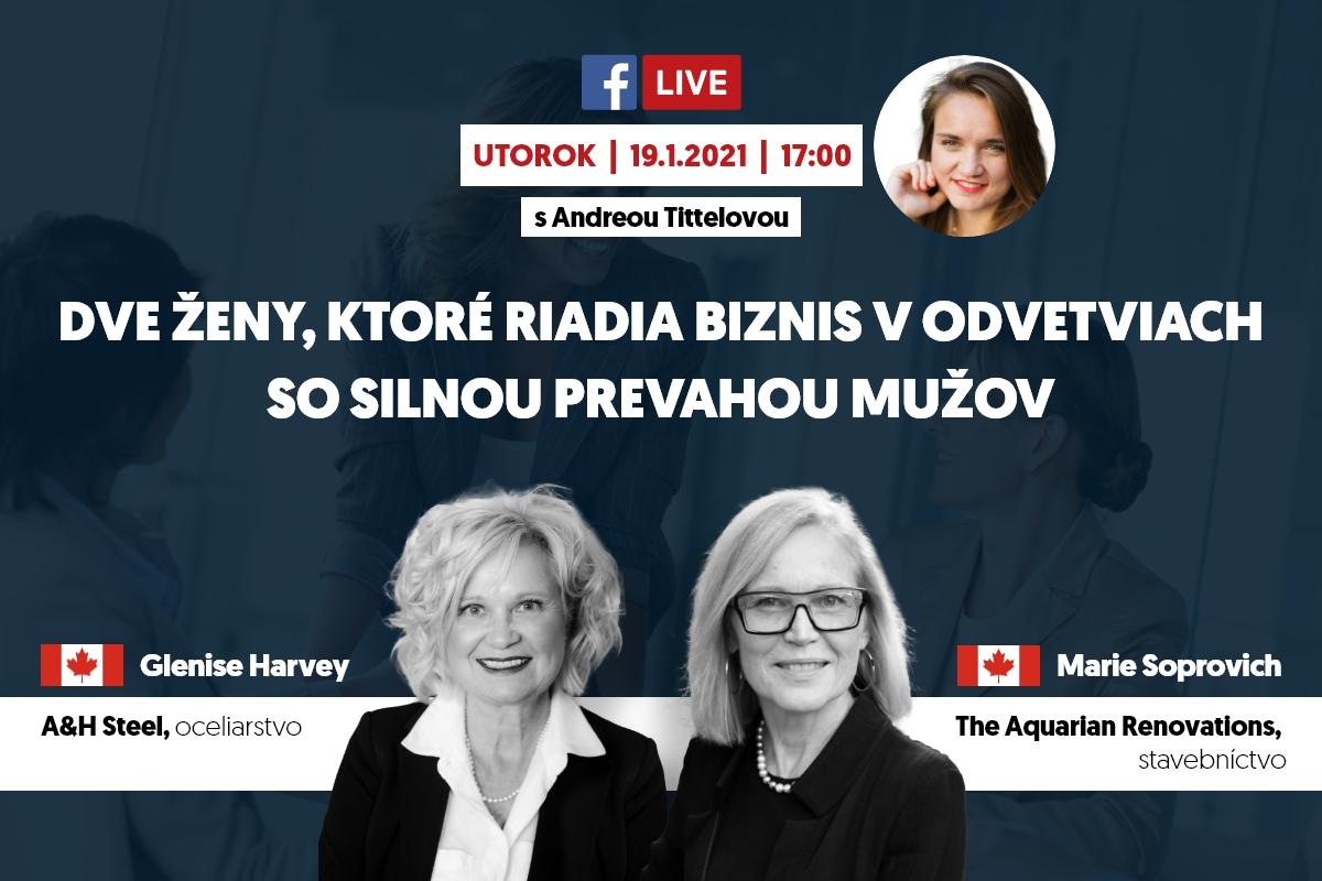 Glenise Harvey, Marie Soprovich, Andrea Tittelová