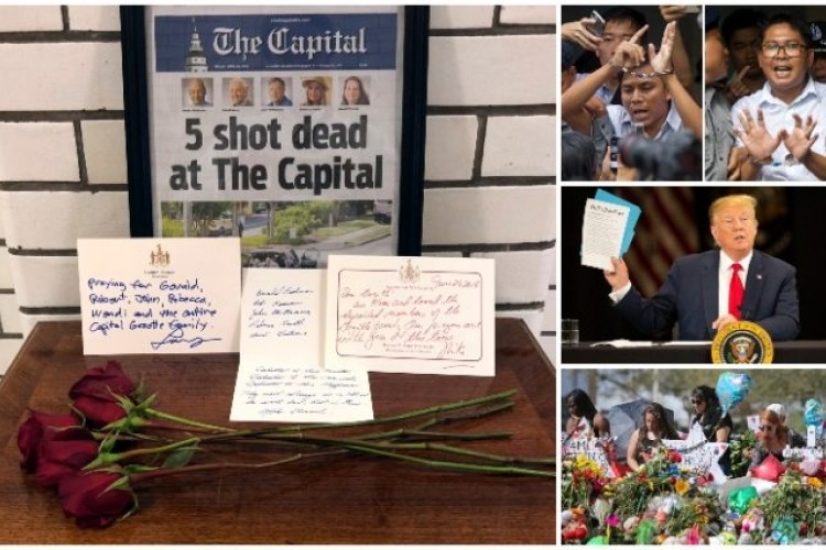 8328e4745 Reportáž o masakre v Capital Gazette ocenili Pulitzerovou cenou ...