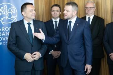 Peter Pellegrini uviedol Petra Kažimíra do funkcie guvernéra NBS