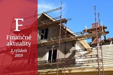 Finančné aktuality 2/2019: Renovácia nehnuteľnosti môže spôsobiť podpoistenie
