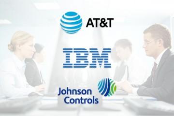 Johnson Controls, AT&T, IBM