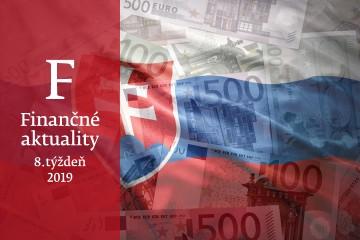 Finančné aktuality 8/2018: Slovenská ekonomika spomaľuje