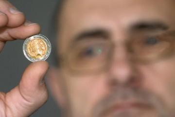 Razenie mincí