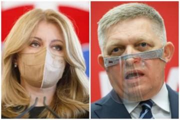 Fico oznámil prezidentke Čaputovej, že Smer-SD plánuje protesty. Nezabudol ani na kritiku