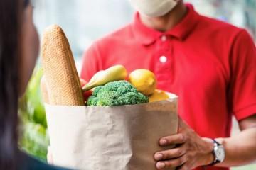 online nakupovanie potravín