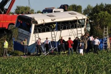 Foto: Vodič z tragickej nehody autobusu neďaleko Piešťan ide na šesť rokov do väzenia