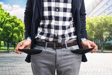 V prvom štvrťroku osobný bankrot vyhlásilo takmer 3 000 ľudí