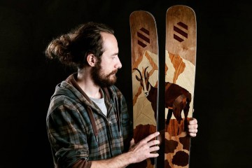 Výrobca drevených lyží: Slováci si poctivú remeselnú prácu nevážia