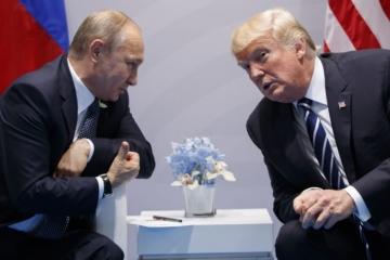 Trump negratuloval Putinovi k víťazstvu vo voľbách, podľa hovorcu Kremľa asi nemal čas