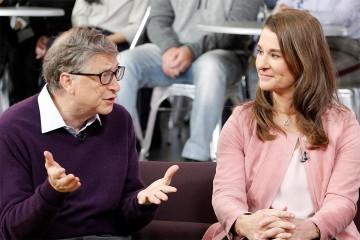Bill Gates a Melinda Gatesová