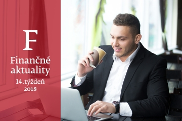 Finančné aktuality 14/2018