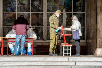Celoplošné testovanie na Slovensku