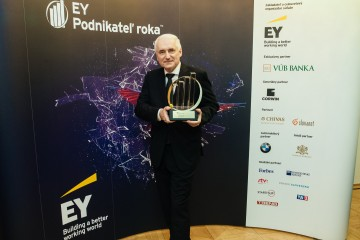 EY Podnikateľ roka Juraj Habovštiak