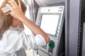 výber z bankomatu