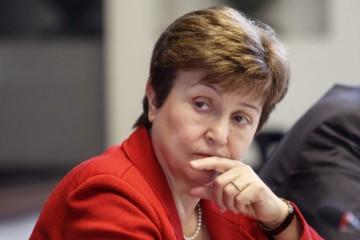 Výkonná riaditeľka Medzinárodného menového fondu (MMF) Kristalina Georgieva