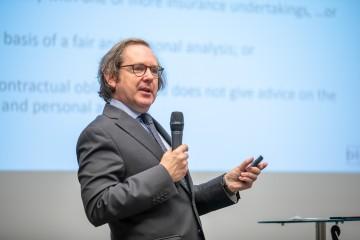Nick de Maesschalck na konferencii AFISP medzinárodný workshop