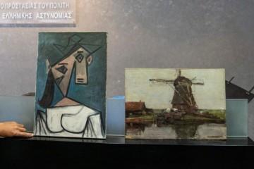 Grécka polícia dolapila zlodeja obrazov od Picassa a Mondriana, z galérie zmizli v roku 2012