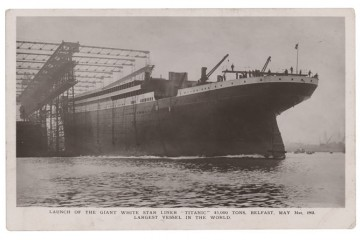 Do dražby v Bostone išla pohľadnica niekdajšieho radistu z Titanicu, ktorú poslal svojej sestre