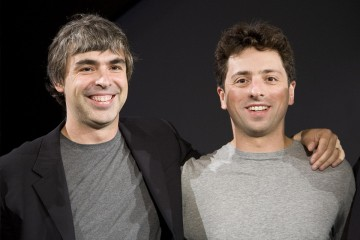 Larry Page a Sergey Brin