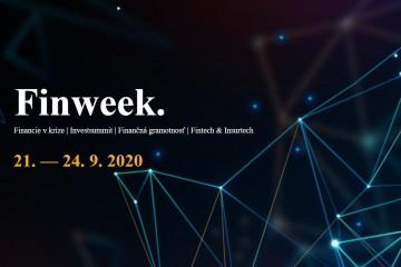 Štartuje Finweek – jedna z mála finančných konferencií v strednej Európe, ktorá odolala pandémii. V jej rozšírenom formáte bude jednou z tém aj finančná gramotnosť Slovákov