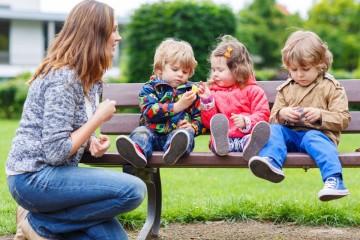 matka s deťmi