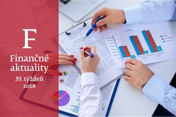 Finančné aktuality 39/2018: Nulu, či stratu, vykazuje v daňovom priznaní čoraz menej firiem