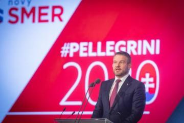 Foto: Pellegrini chce vo voľbách nadviazať na sériu úspechov, Smer na sneme oslávil 20 rokov