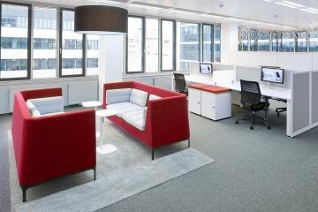 Moderná kancelária nie je len o práci