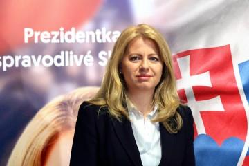 Zuzana Čaputová sa stala novou prezidentkou Slovenskej republiky.