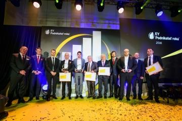 EY Podnikateľom roka 2016 Slovenskej republiky sa stal Jozef Klein, a spoločnosť Asseco Central Europe, a.s.