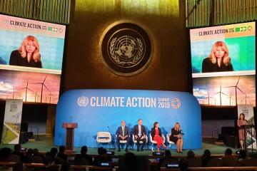 Prezidentka Zuzana Čaputová na klimatickom summite v New Yorku