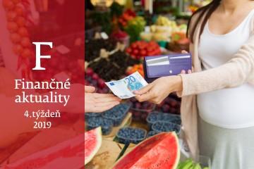 Finančné aktuality 4/2019: Rast cien sa v minulom roku zrýchlil