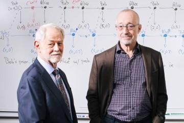 Paul Milgrom a Robert Wilson, laureáti Nobelovej ceny