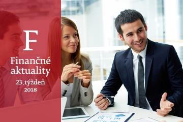 Finančné aktuality 23/2018: Poisťovne sa obávajú nedostatku odborníkov