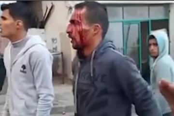 Video: Členova Hamasu brutálne zasiahli proti demonštrantom v Pásme Gazy, zbili ich a pozatýkali