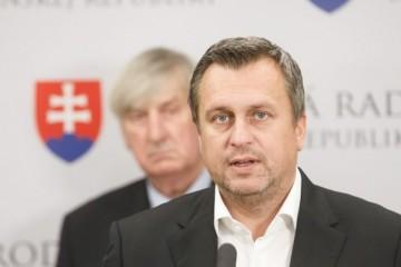 Predseda Národnej rady SR Andrej Danko