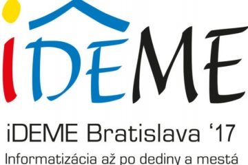 """""""Už vo štvrtok konferencia iDEME 2017 o informatizácii spoločnosti"""""""