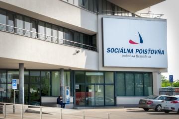 Pobočka Sociálnej poisťovne v Bratislave.