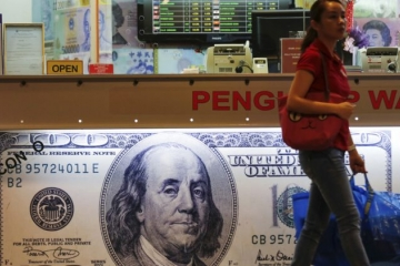 Dolár oslabil voči jenu aj euru, zasadal americký Federálny rezervný systém