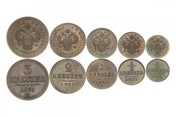 historické mince