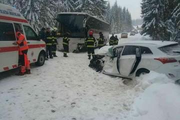 Snehová kalamita potrápila Slovensko, najmä sever
