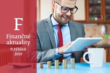 Finančné aktuality 9/2019: Deň daňovej slobody sa tohto roku posunul o3 dni