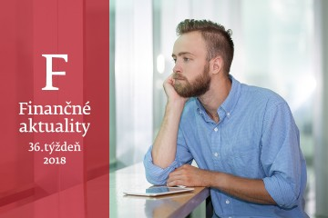 Finančné aktuality 36/2018: Každý druhý Slovák chce zmeniť prácu