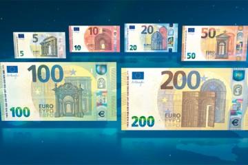 Do obehu prichádzajú nové bankovky v hodnote 100 a 200 eur