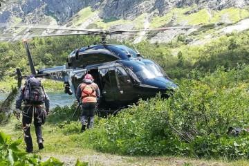 Foto: V Tatrách tragicky zahynul 40-ročný horolezec, spadol spod Kolového štítu