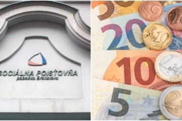 Výdavky Sociálnej poisťovne stúpli o stovky miliónov eur, môžu za to aj starobné dôchodky